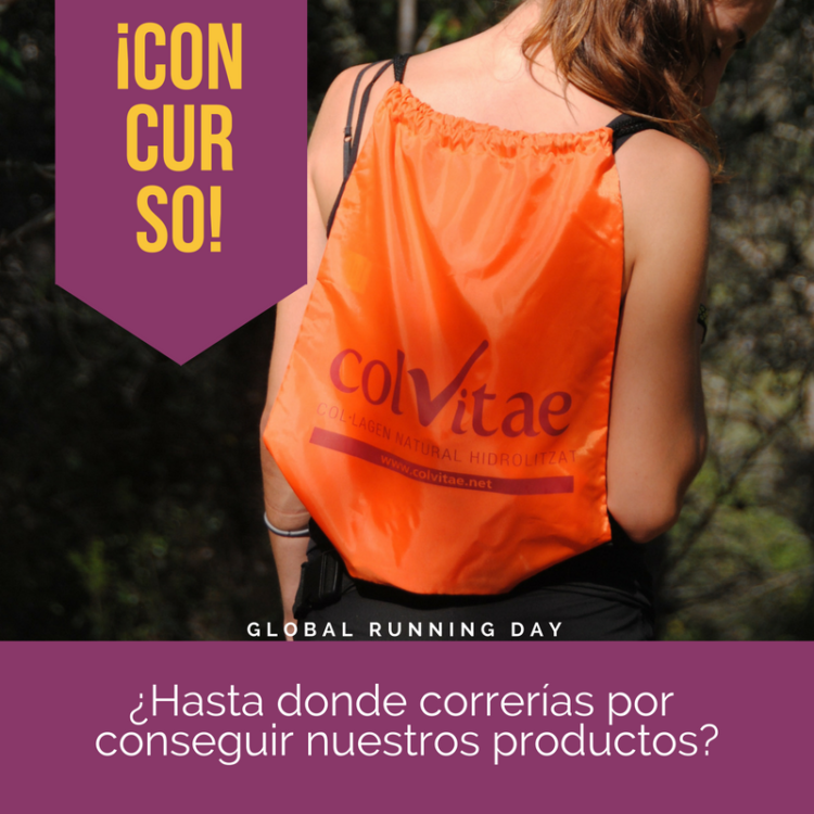 Global running day 2018, sorteo colvitae